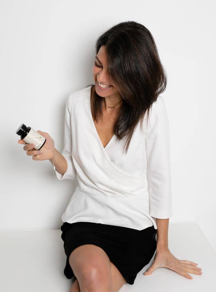 Photo de Elsa Le Cann, la fondatrice de la marque Les Subtiles.